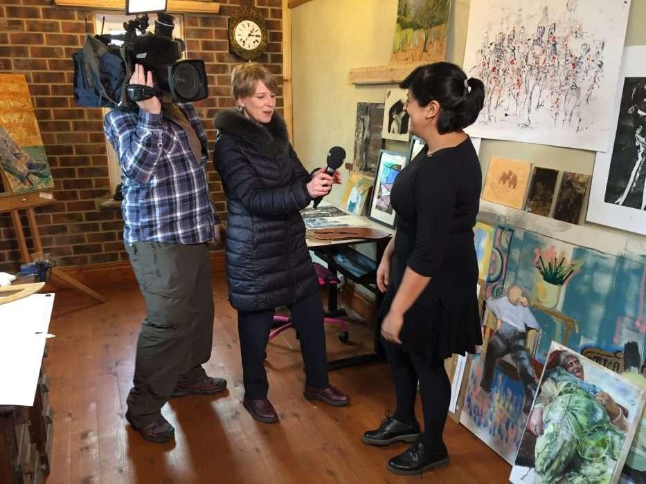 BBC News Look North Cathy Killick