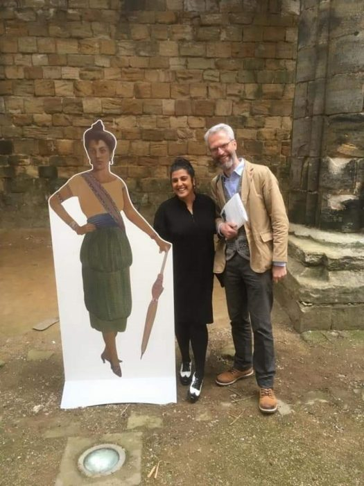 Andrew Edwards BBC Radio Leeds - Faith in Peace and War: Heroism at Kirkstall Abbey Exhibition