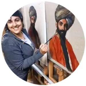 suman-kaur-sikh-artist-M