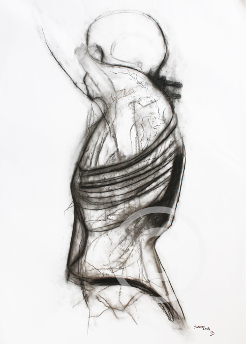 SK14 A1 Charcoal on paper. £400.00