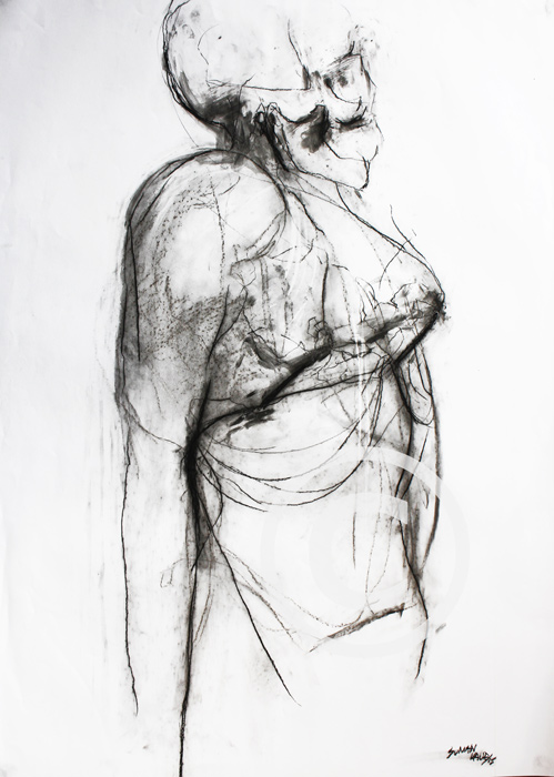 SK15 A1 Charcoal on paper. £400.00
